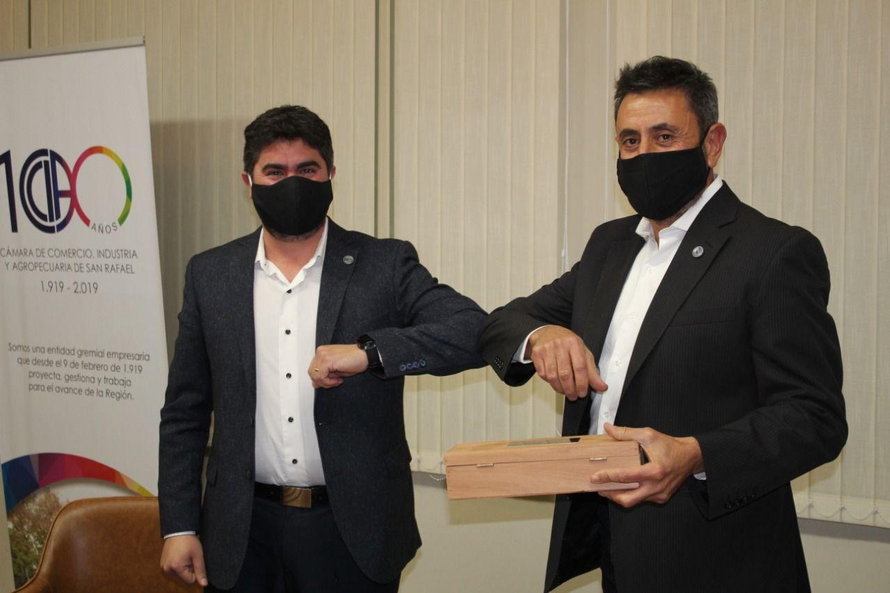 nicolas martinez nuevo presidente camara de comercio de san rafael